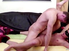 18yr old GERMAN TEEN get First Time Porn Movie with Step Bro