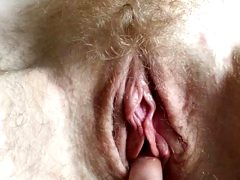 20 minutes fingering and clit play