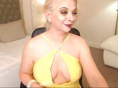 37% Blonde milf on cam show 2