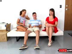 Adriana Chechik, Dana DeArmond And A Lucky Guy