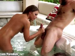 Adriana Chechik – Sensual Blowjob In The Whirlpool