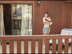 "Alanna Masterson's Bikini Scene From ""Afraid"""
