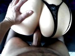 Anal sex for a police girl with a big ass who sucks my dick!