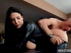 Angela White Busting On The Burglar