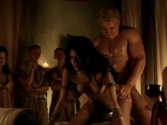 Aria Dickson In Spartacus