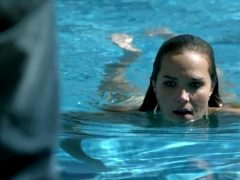 Arielle Kebbel Swimming Naked
