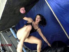 ballbusting kicks