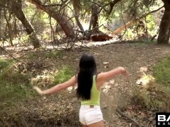 Bambi Black – Gets Fucked In The Woods