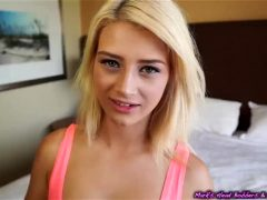 Blackmailed Blonde