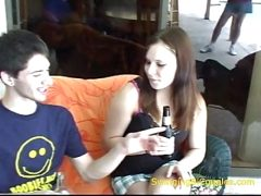 brother Eats sisterS cream pie