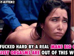 Brunette Anal Orgasm Sissy Caption