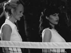 Carla Gugino & Cameron Richardson In 'Hotel Noir '