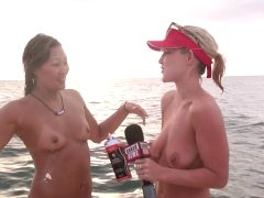 Carli Sucks Eila's Tit