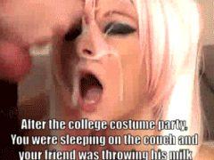 college costume party cum