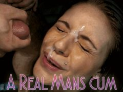 Crave Real Man's Cum On My Face Sissy Caption