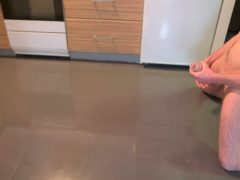 Cumming On A Kitchen Floor