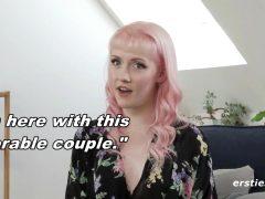Evie Teaches Anal To A Couple.