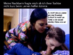 German caption