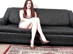 Hot Teen Brees Kelly Shows Off Soft Feet at FuckedFeet!