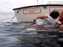 Jacqueline Bisset's Wet T-shirt In The Deep