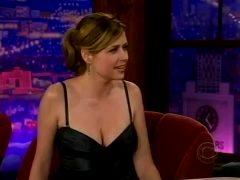 Jenna Fischer Looking Hot On A Talk Show