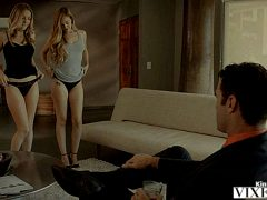 Karla Kush Lyra Law Best Friends Get Punished By Rich Boss Vixen