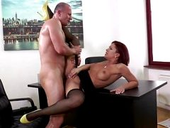 Kathy Fuckdoll Black Stockings & Yellow Shoes Fucking