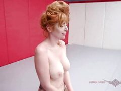 Lauren Phillips Nude Wrestling vs Lance Hart goes Anal