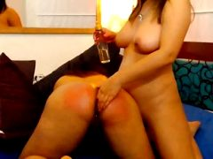 Lesbian Babes Having Fun In Front Of Their Cam