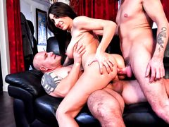 LETSDOEIT – French Babe Hard ANALyzed and Double Penetrated