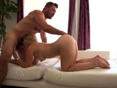 Lisey Sweet Takes Manuel's Thick Cock Up Her Tight Asshole!