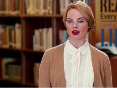 Margot Robbie Librarian Strip