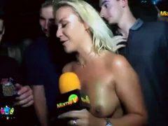 Miami Tv Host Jenny Scordamaglia – Grope The Host's Ass Challenge