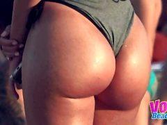 Micro Bikini Amateur Teens Voyeur Beach Compilation Video
