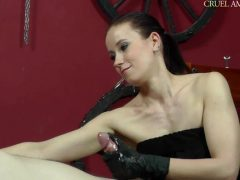 Mistress Anette – Blowing Smoke On Him