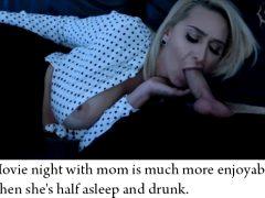 movie night with mom