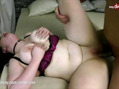 MyDirtyHobby – Chubby babe gets creampied by a huge cock