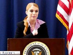 Naughty America – Penny Pax fucks her intern