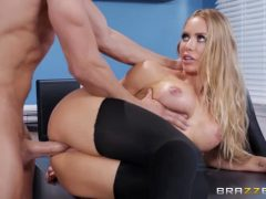 Nicole Aniston Gets A Sloppy Facial