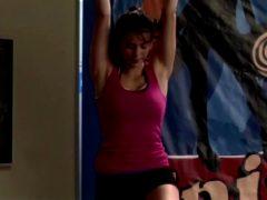 Nina Dobrev Is Really Flexible