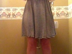 No Bra Or Panties Under My Church Dress