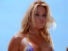 Pamela Anderson Dental Floss Bikini Plot In 'Baywatch'