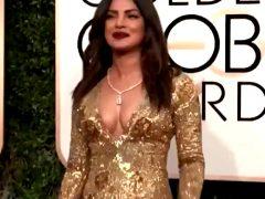 Priyanka Chopra At The Golden Globes