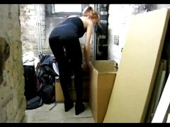 redhead chick gets fucked hard by a thief