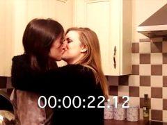 Rose & Rosie lesbian kisses!!