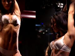 Roselyn Sanchez Stripping In Yellow +