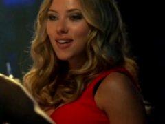 Scarlett Johansson At The Club