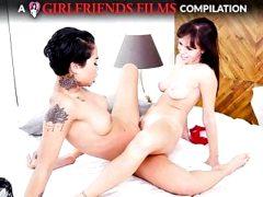 Scissoring Compilation Part 2 – GirlfriendsFilms