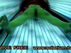 Solarium Cam hot Horny Girl Masturbation www.solarium.tv