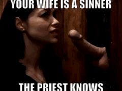 The priest really knows